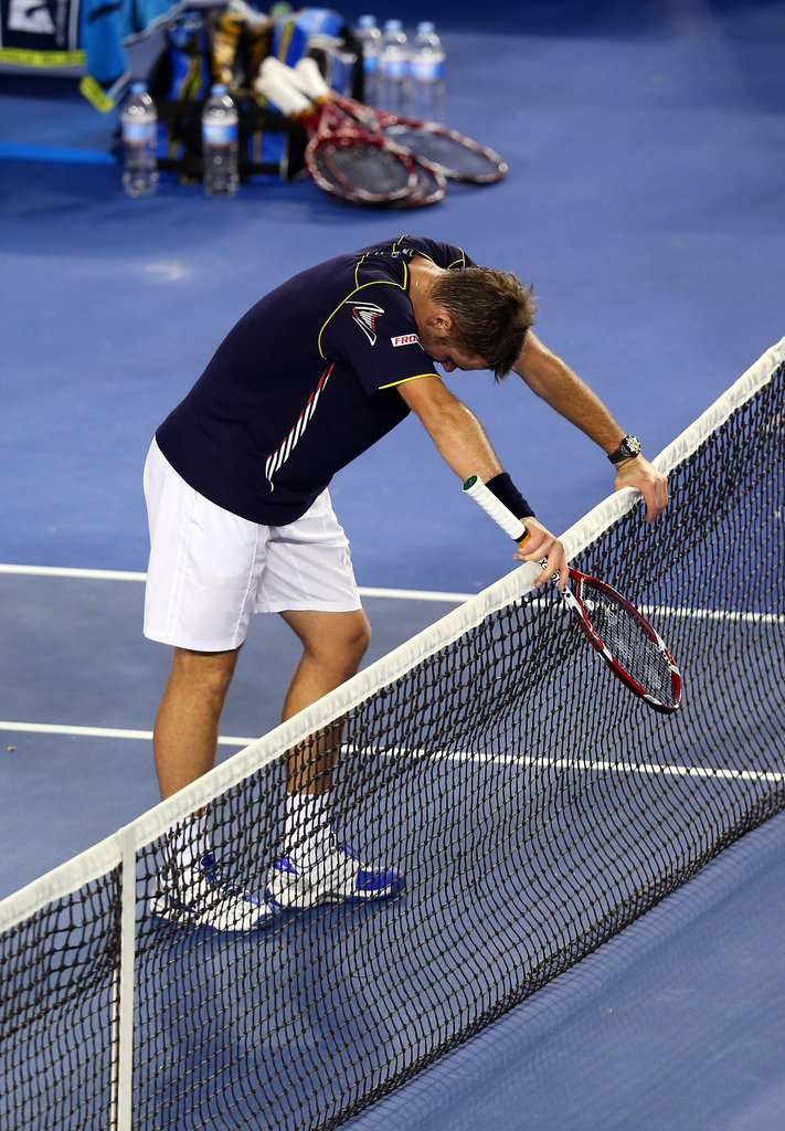 The Best Shots From the Epic Fourth Round Djokovic vs. Wawrinka Australian Open Match