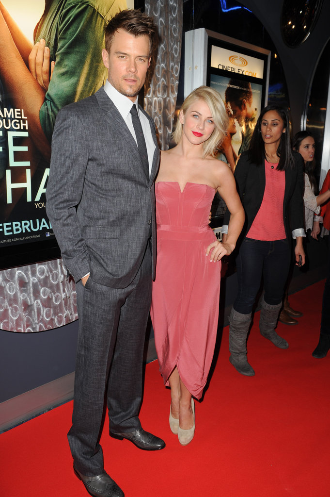 Julianne Hough and Josh Duhamel Take Their Safe Haven Tour to Toronto