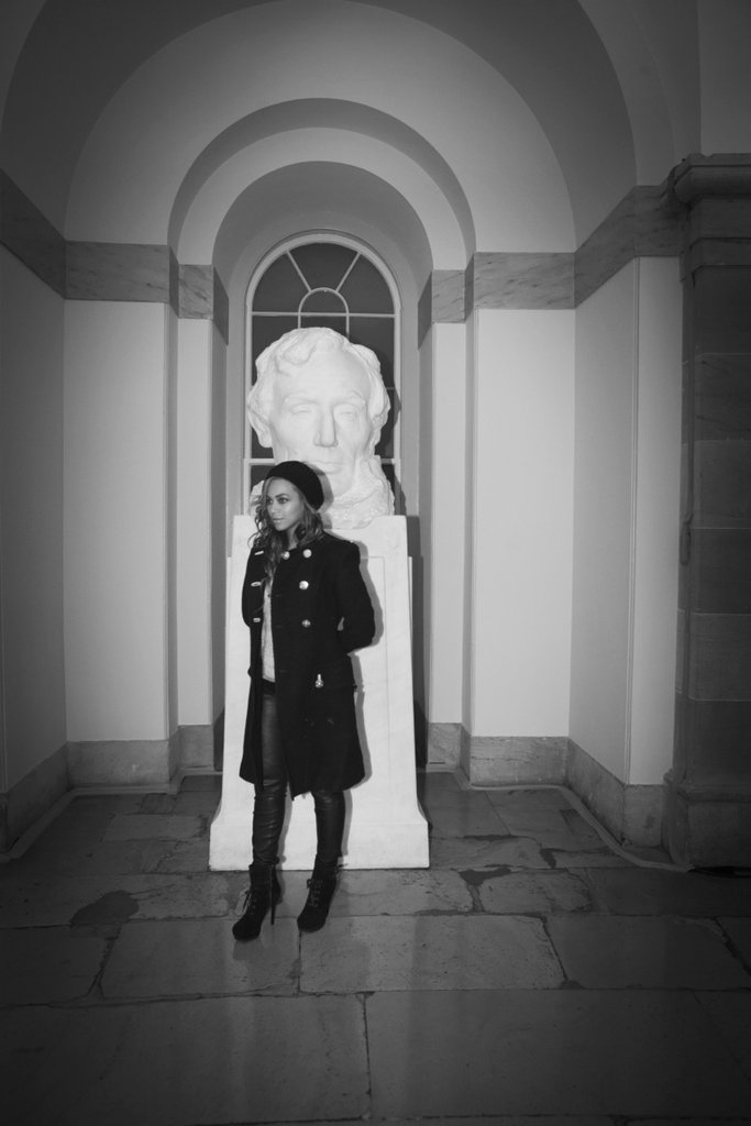 Beyoncé shared a photo from her trip to Washington DC. Source: Tumblr user Beyoncé Knowles