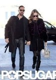 Kate Bosworth and Michael Polish Take Off and Land Hand in Hand at Sundance