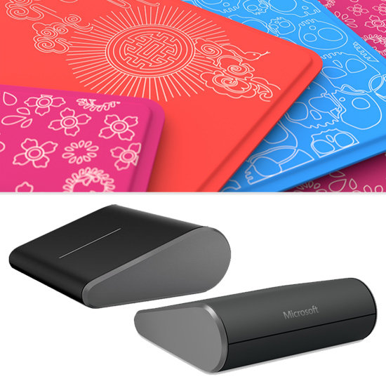 Microsoft's New Wedge Mouse and Limited-Edition Touch Covers