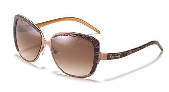 These Roberto Cavalli snake-print sunglasses ($450) are undeniably cool and the most subtle way to get in on the trend.