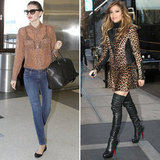 Miranda Kerr and Jennifer Lopez Give Us Leopard Print to Wear Day or Night