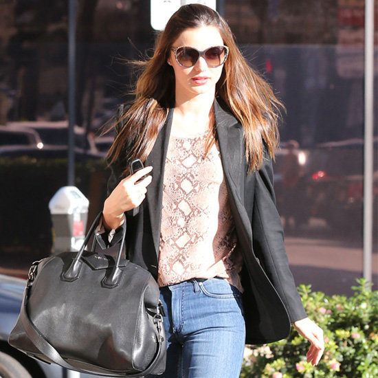 10 Stunning Snake-Print Pieces, Including Miranda Kerr's Exact Top!