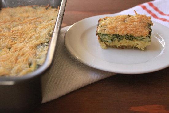 Quonoa Egg Bake Receta