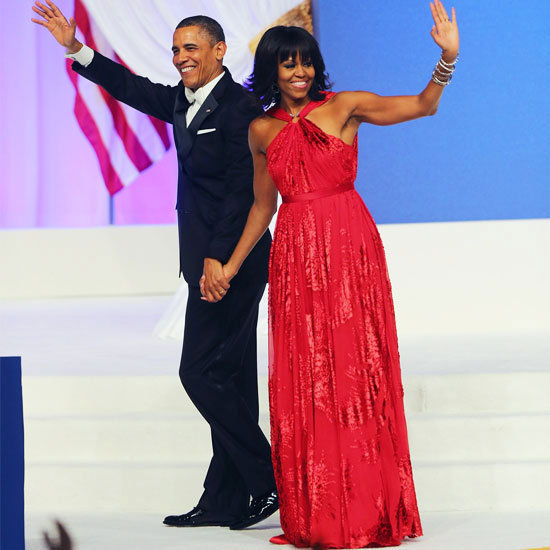 Michelle Obama Stays True to Jason Wu For Second Inaugural Ball