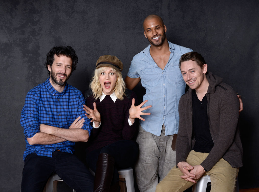 Austenland actors Bret McKenzie, Georgia King, Ricky Whittle and JJ Feild had fun promoting their film.