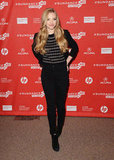 Amanda Seyfried stepped out in Park City, Utah, for the Lovelace premiere.