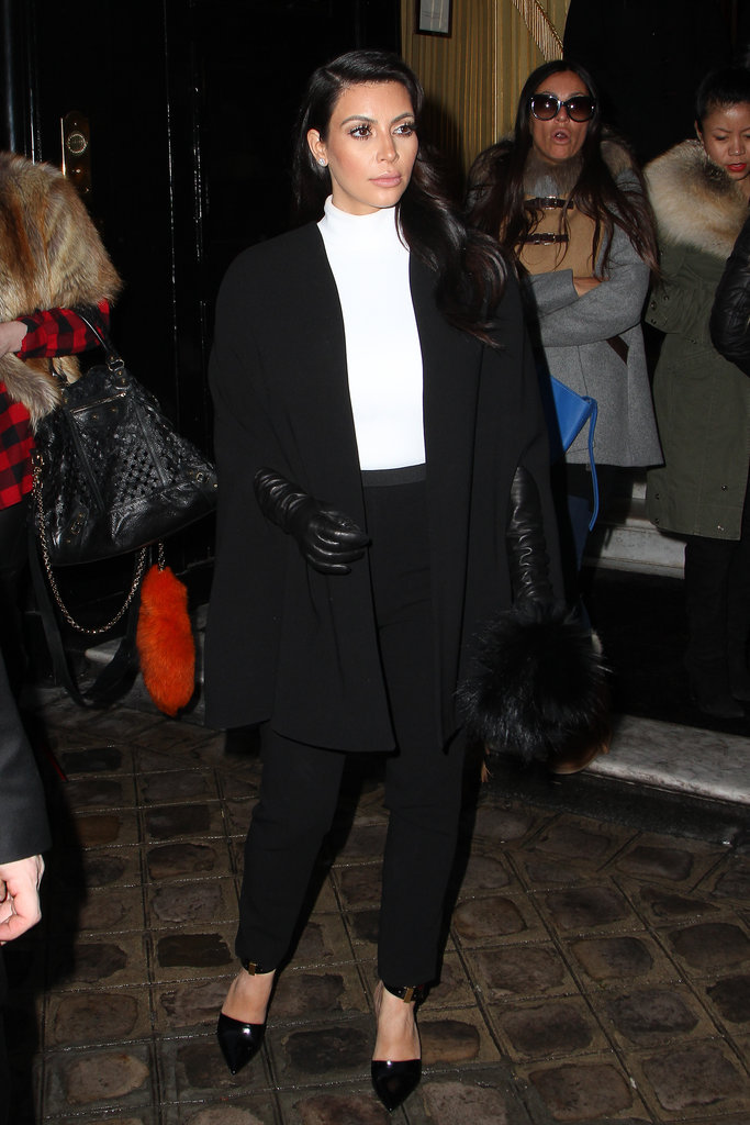 Kim Kardashian attended Paris Couture Fashion Week.