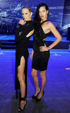 Adriana Lima and Karolina Kurkova Get Sexy For a Swiss Bash