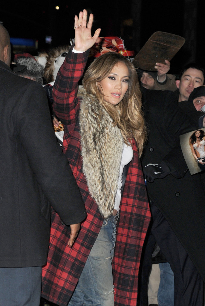 Jennifer Lopez Goes For a Sexy Leopard Look to Promote Parker