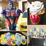 A Transformers Birthday Party With a Very Special Guest