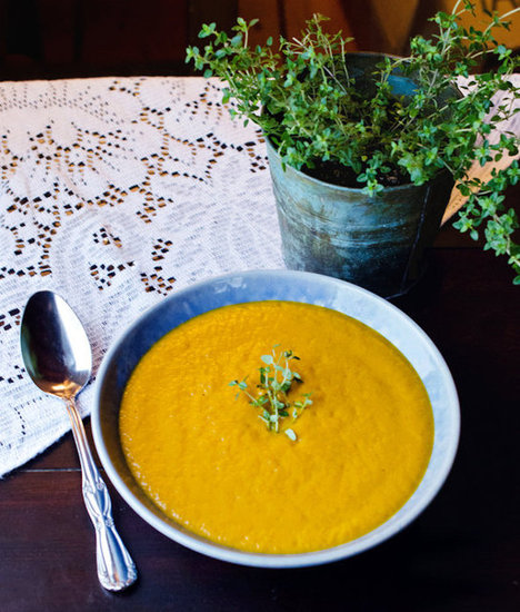 Creamy Roasted Carrot Soup