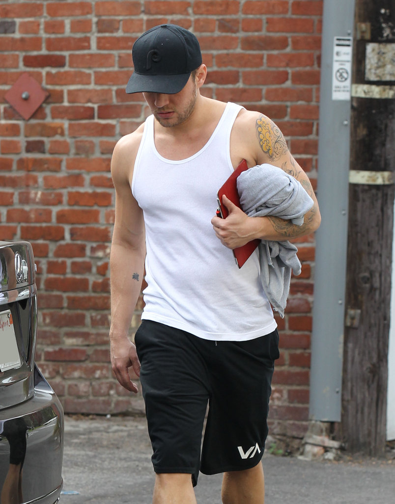Ryan Phillippe's muscles were on display after a workout in LA.