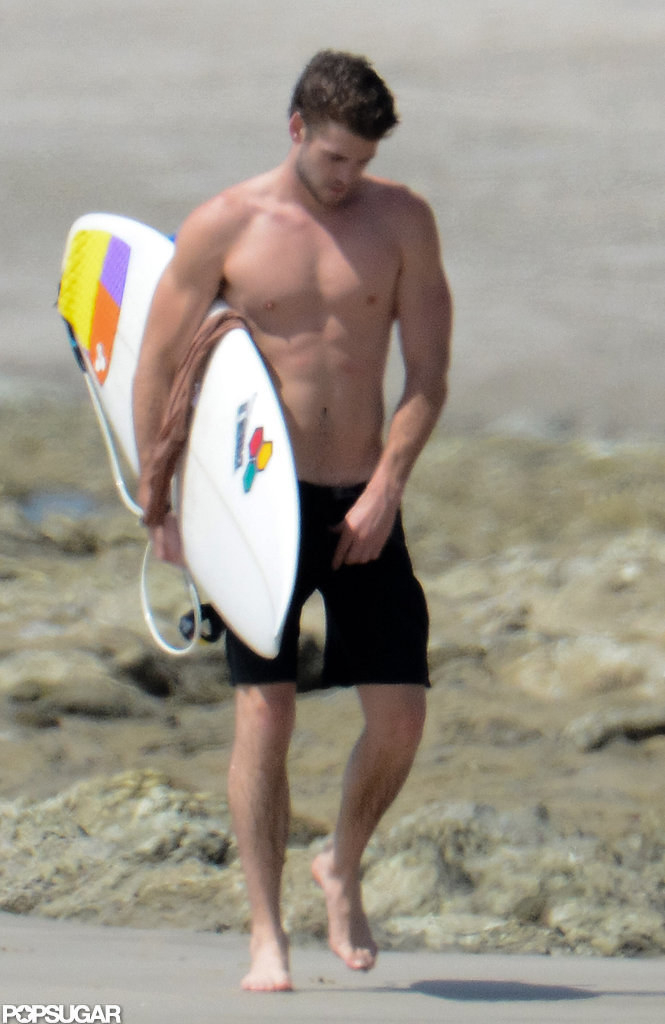 The Shirtless Hemsworth Brothers Get Sexy Surfing in Costa Rica