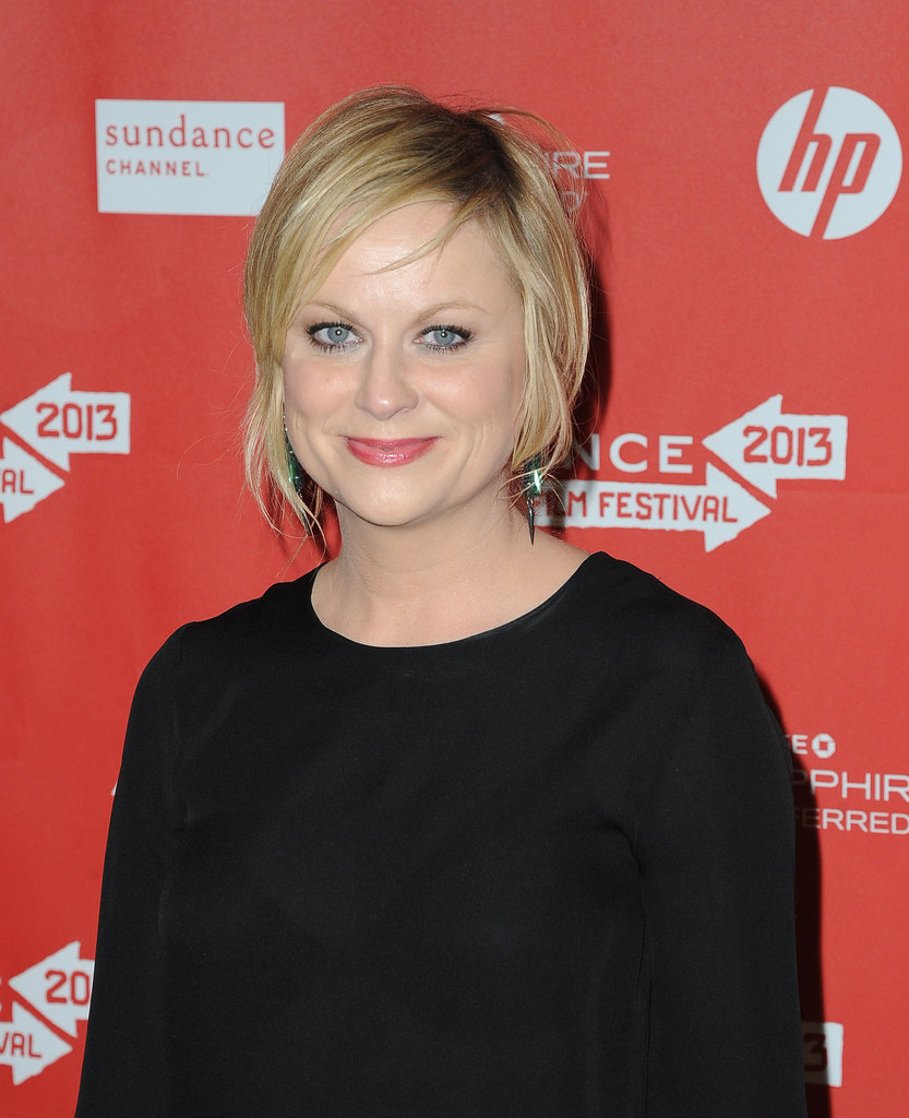 Amy Poehler attended the premiere of A.C.O.D. at Sundance.