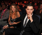 Michael Bublé and Luisana Lopilato sat in the audience at the November 2010 American Music Awards.