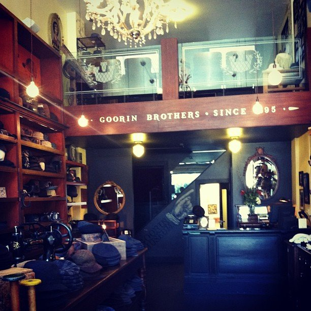 While in San Francisco, we shot on location at Goorin Bros. to show you how to pick the perfect hat.