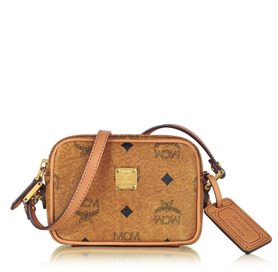 MCM's heritage minibag ($390) is a classic choice, featuring a simple silhouette and a delicate crossbody strap.