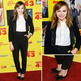 Chloe Moretz at Movie 43 LA Premiere