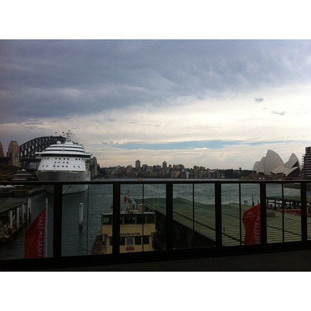 If there was a competition for the world's best train station view, we reckon Circular Quay would be a contender.