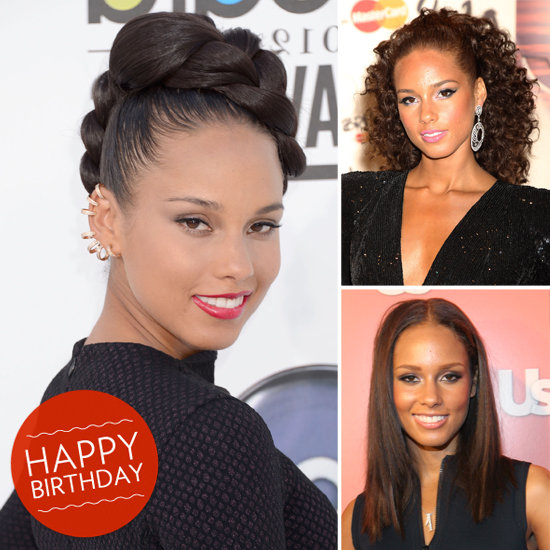 Happy Birthday, Alicia Keys! See Her Most Iconic Beauty Looks
