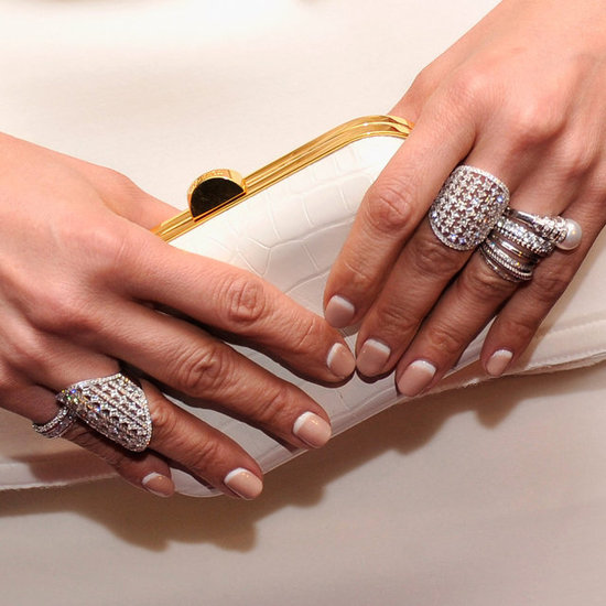 Jennifer Lopez&#039;s Reverse French Manicure