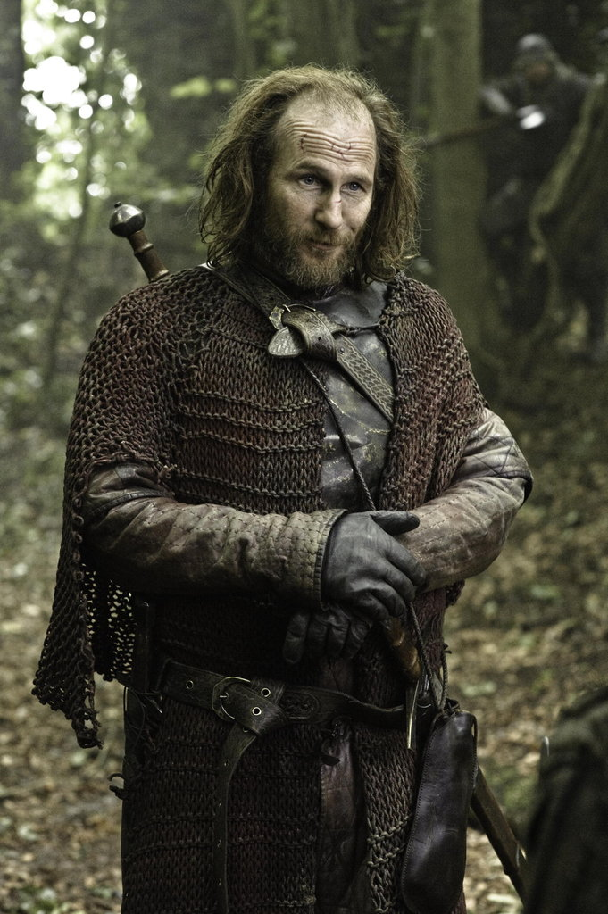 In the season premiere, Thoros (Paul Kaye) appears on Game of Thrones for the first time.