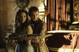 Joffrey (Jack Gleeson) grows closer to his new bride-to-be, Margaery Tyrell (Natalie Dormer).
