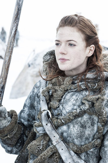 "Ygritte (Rose Leslie) is still making life a little more ""interesting"" for Jon."