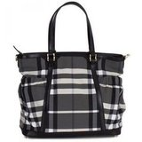 For Kate: Burberry's Nova Check Changing Bag