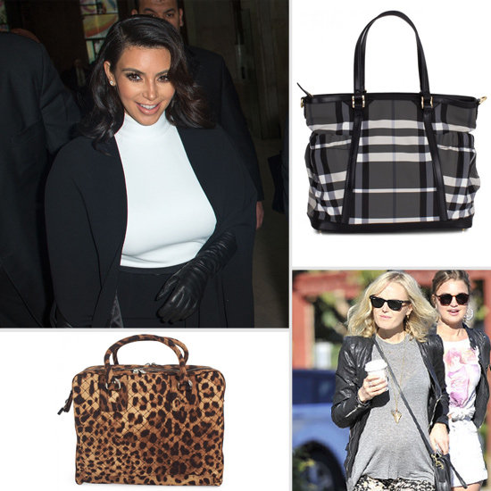 The Perfect Diaper Bags For Our Favorite Celebrity Moms-to-Be