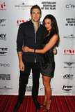 Shaun Hampson and Megan Gale