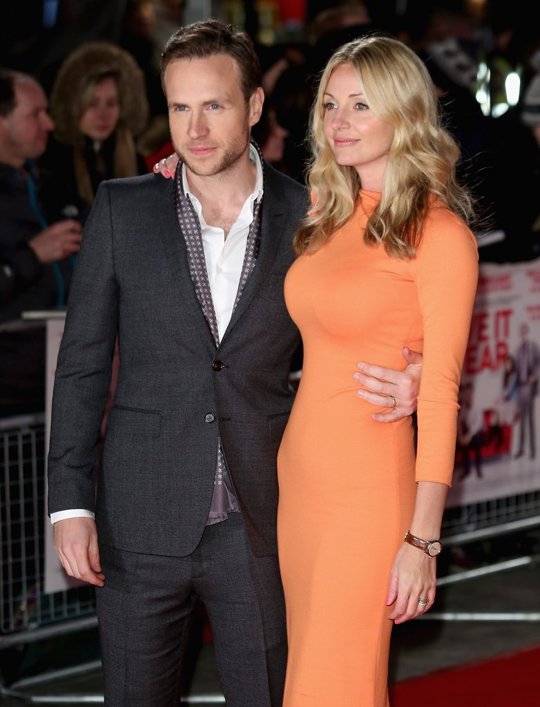 Rafe Spall and Eliza Du Toit