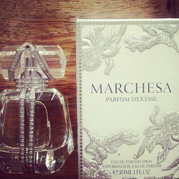 Samantha Wills loves anything and everything Marchesa — including this luxe fragrance she snapped! Source: Instagram user samanthawills