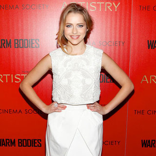 Teresa Palmer at Warm Bodies NYC Premiere