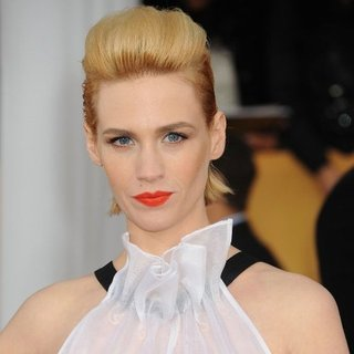 January Jones Hair Color Changes
