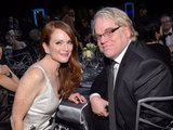 Julianne Moore and Philip Seymour Hoffman