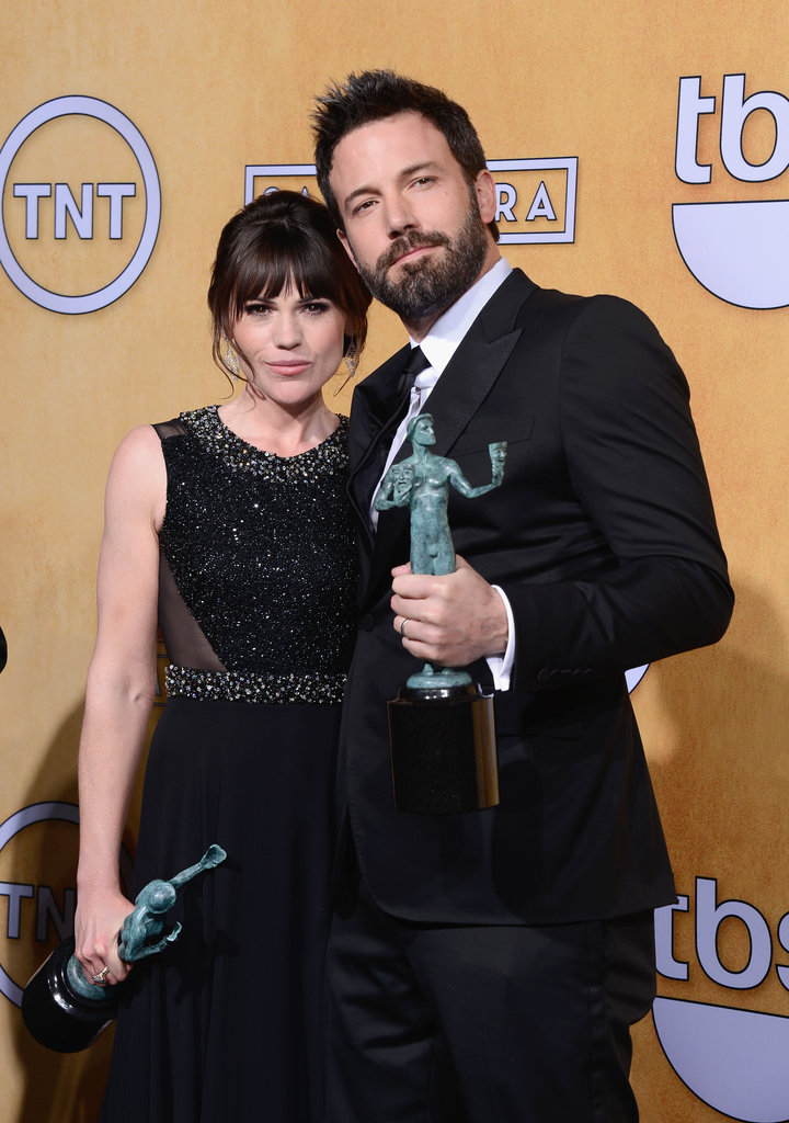 Clea DuVall and Ben Affleck