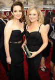 Tina Fey and her buddy Amy Poehler met up on the red carpet.