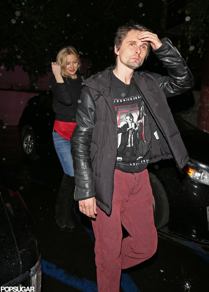 Kate Hudson and Matthew Bellamy went on a date night in LA.
