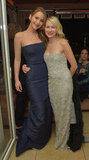 Jennifer Lawrence buddied up with Naomi Watts.