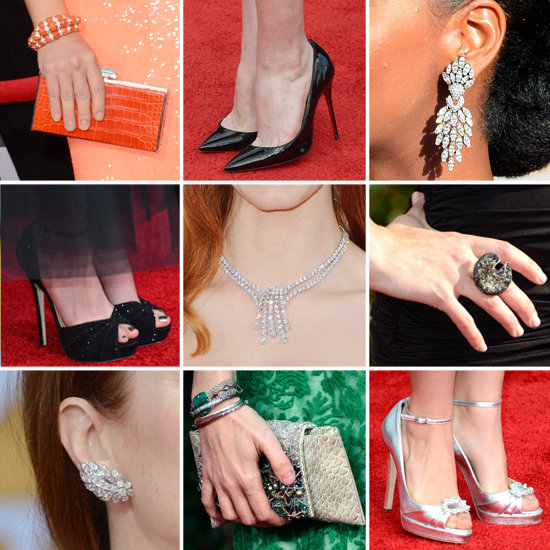 The Best Bags, Baubles, and Heels to Walk the SAG Awards Red Carpet
