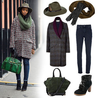 Tweed Coat Street Style (Shopping)