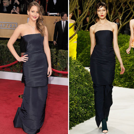 Celebs Were All About the Hot-Off-the-Runway Gowns at the SAG Awards