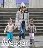 Sarah Jessica Parker took her girls, Loretta Broderick and Tabitha Broderick, out in NYC.