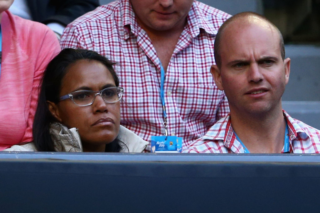 Cathy Freeman and Sandy Bodecker
