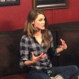 Keri Russell was in Park City promoting her new movie Austenland.