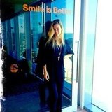 Bar Refaeli shared a smile with her fans. Source: Instagram user barrefaeli