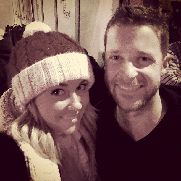 Lauren Conrad and good friend Trey Phillips went ice skating together.  Source: Instagram user laurenconrad